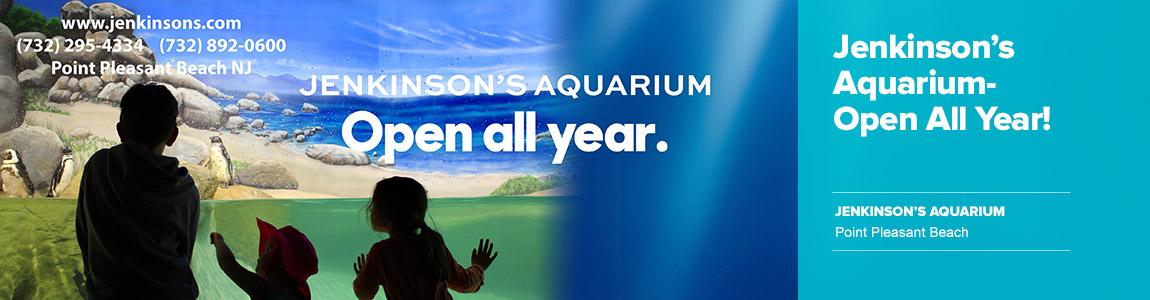 Jenkinson's Aquarium Open All Year Long