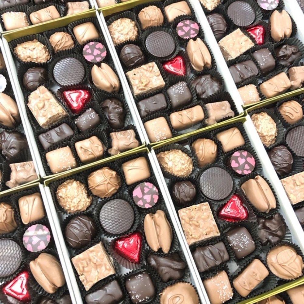 The Perfect Box of Homemade Chocolates!