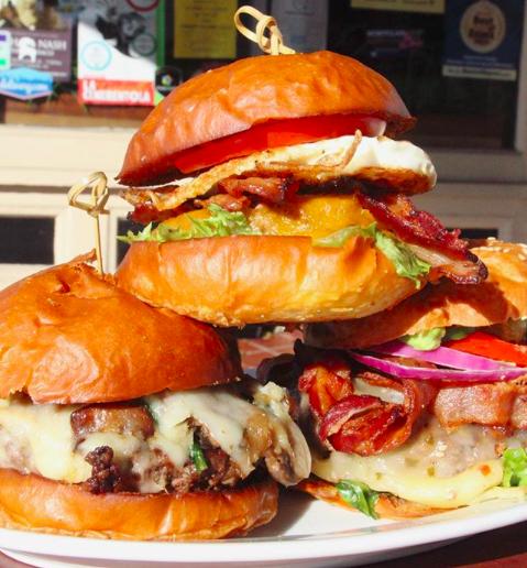 Buy 1 Get 50% OFF 1 ANY Burger at The Spot!