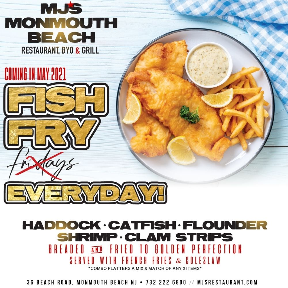 MJ's MONMOUTH BEACH FISH FRY