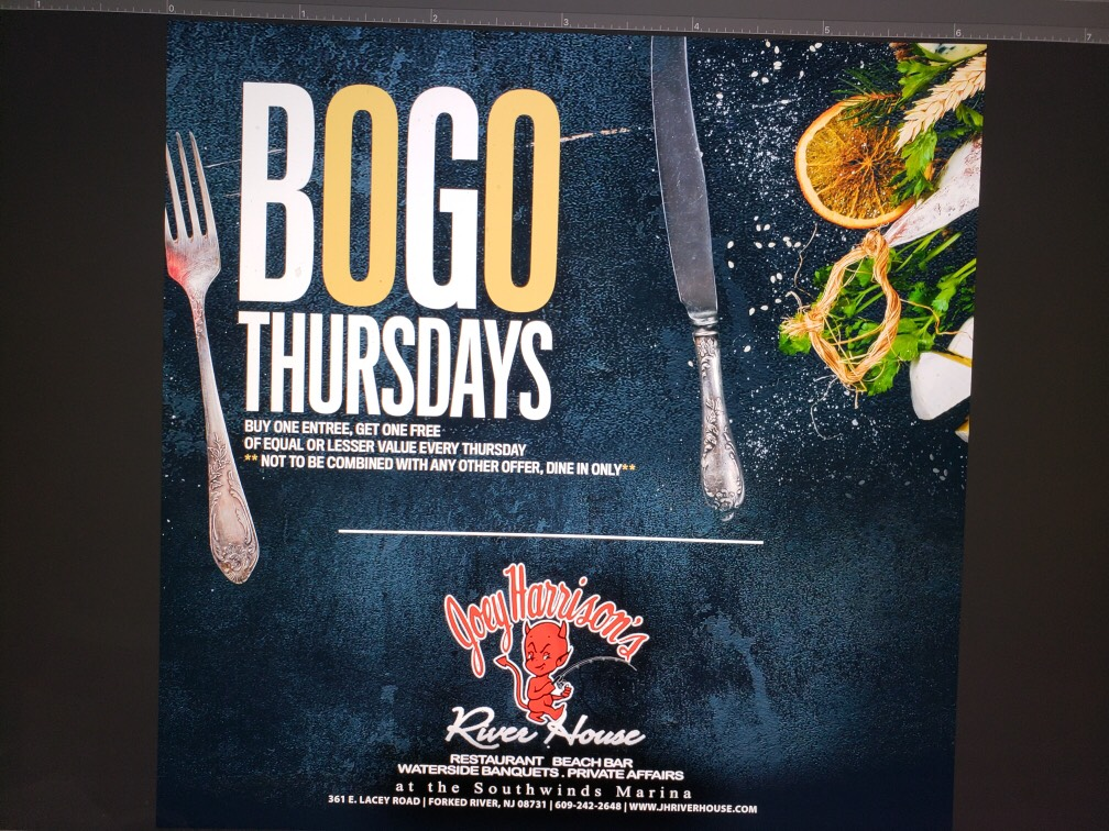 BOGO Thursdays at Joey Harrison's