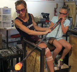 Hot Sand Glassblowing Studio on the Jersey Shore