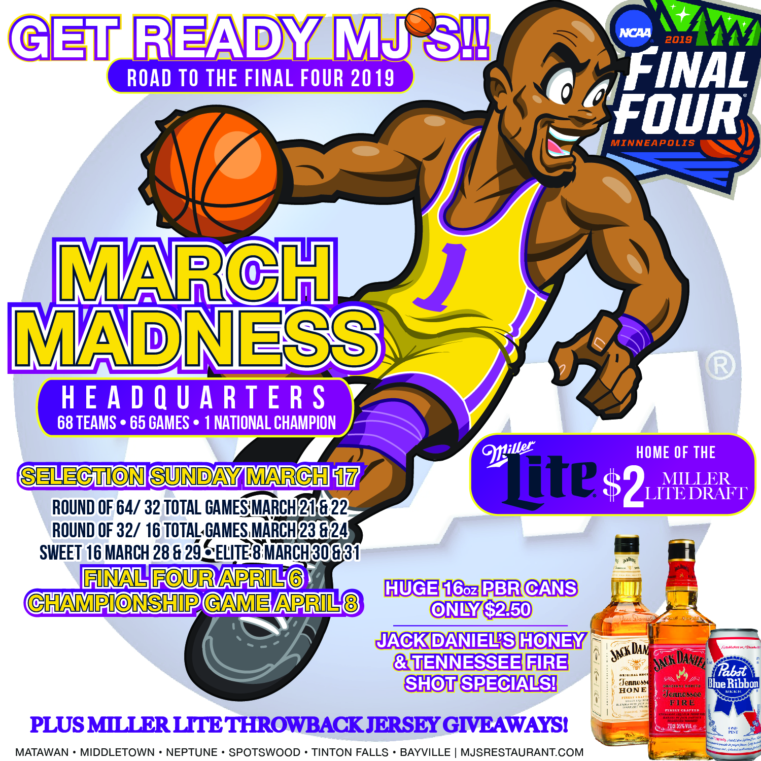 March Madness is Back at MJ's!