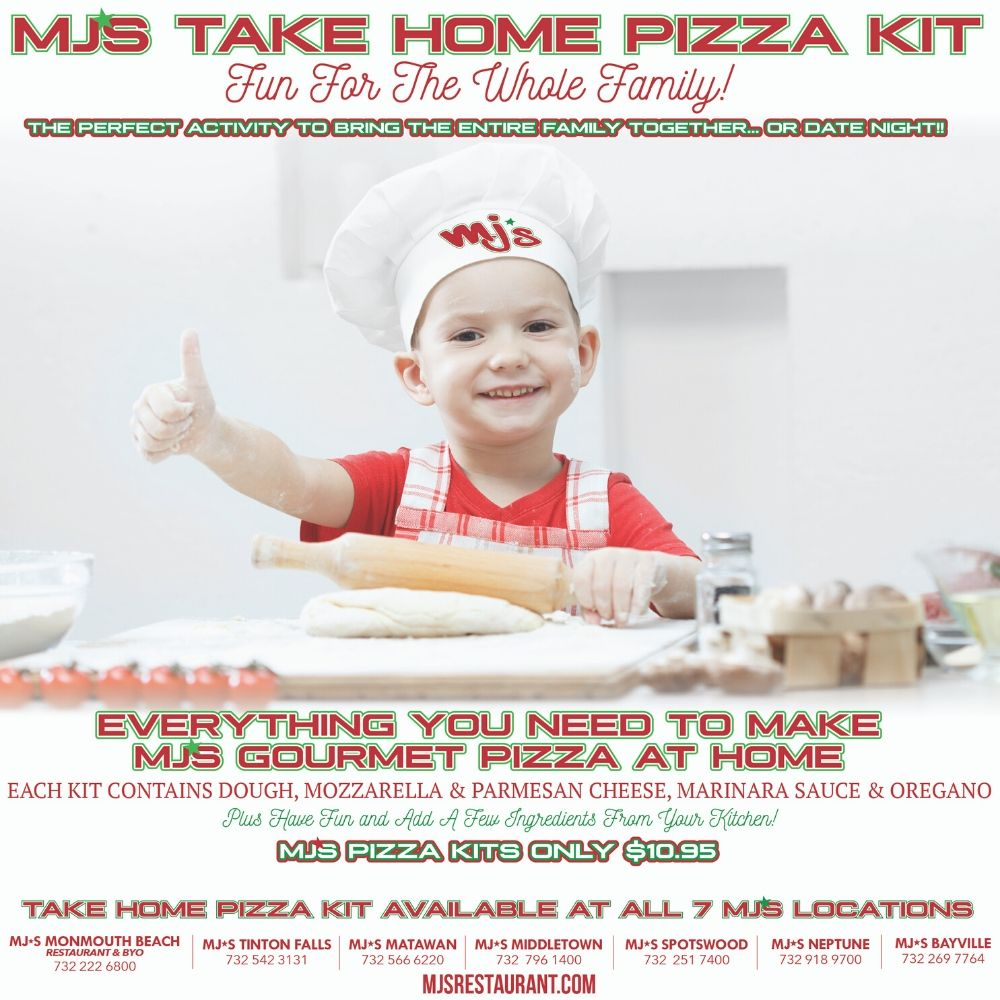 Take Home Pizza Kits from MJ'S!