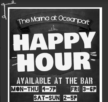 Happy Hour at The Marina
