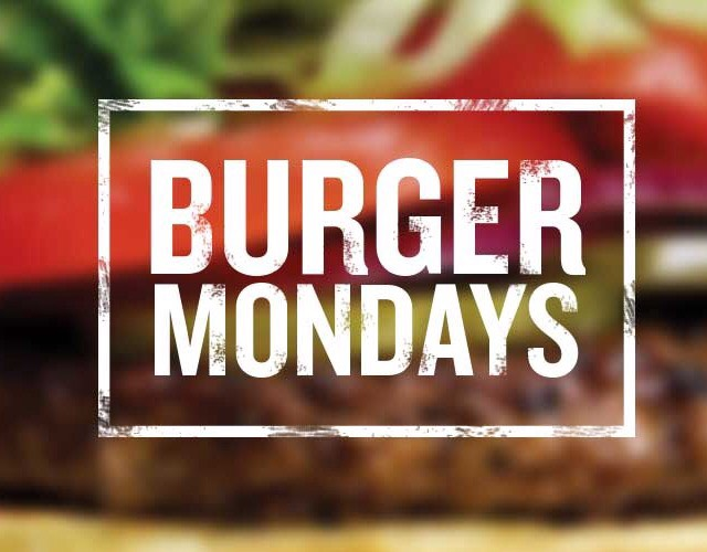 Burger Mondays at Hailey's Harp & Pub!