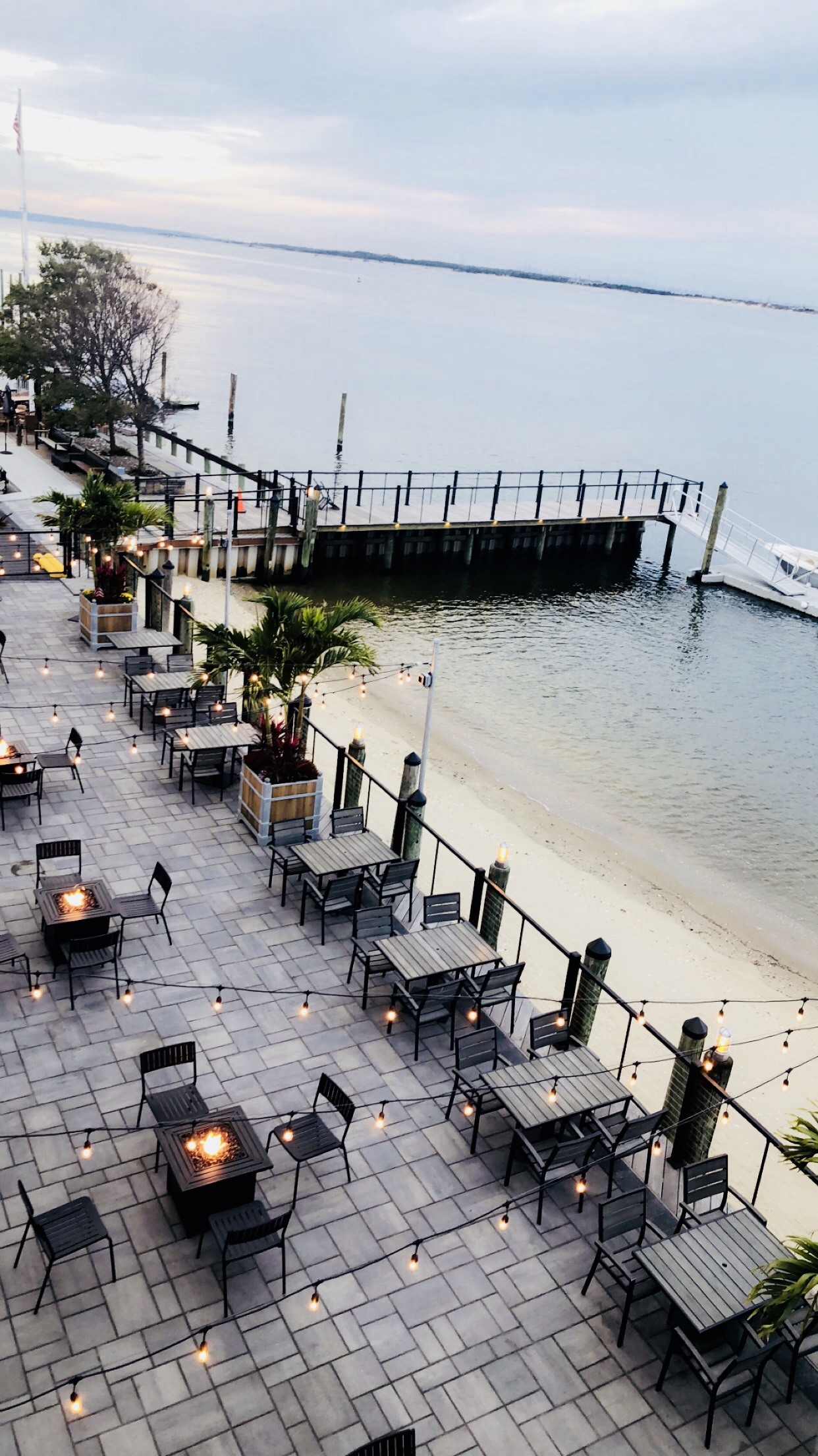 Enjoy Waterfront Dining All Year