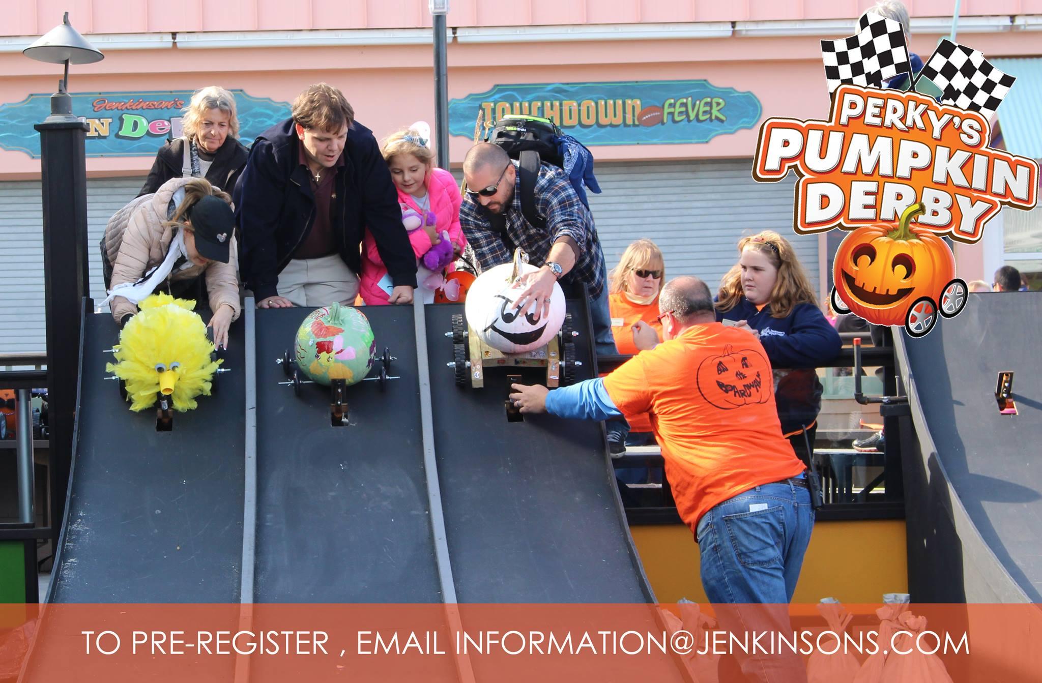 Perky's Pumpkin Derby – October 27th