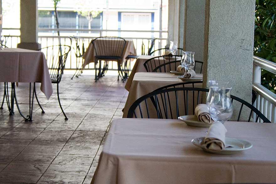 Harborside Grill's Dinner Menu