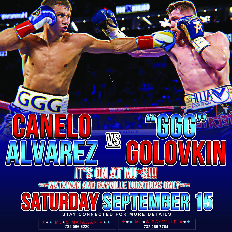 "Watch the Canelo Alvarez vs ""GGG"" Golovkin Fight!"