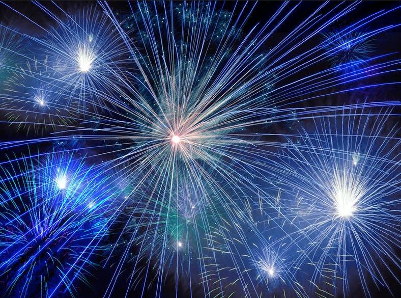 NYE Fireworks at Seaside Heights!