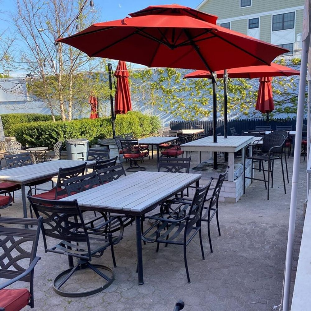Outdoor Dining Returns to Rory's in Sea Bright!