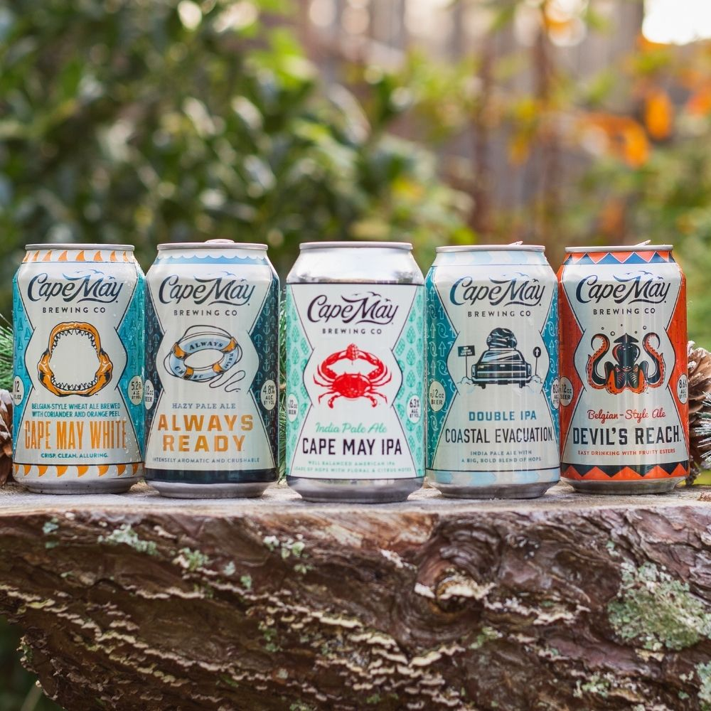 Cape May Brewery Beer Finder