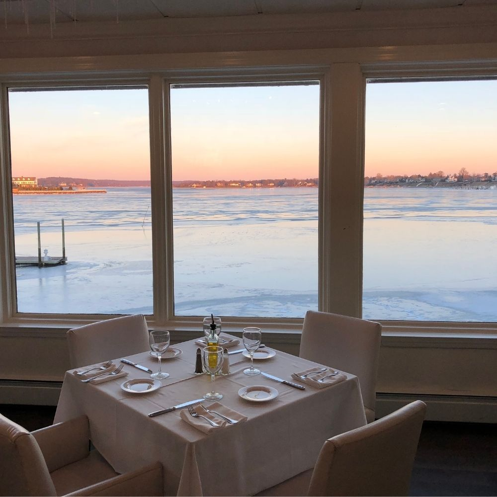 Waterfront Dining at the Oyster Point Hotel