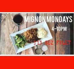 Mignon Mondays at The Thirsty Turtle