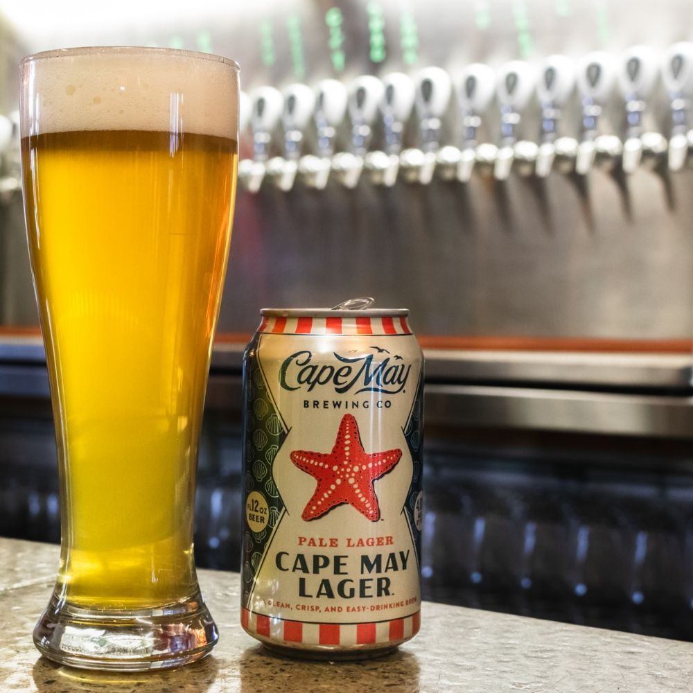 Cape May Lager- The Perfect BBQ Beer