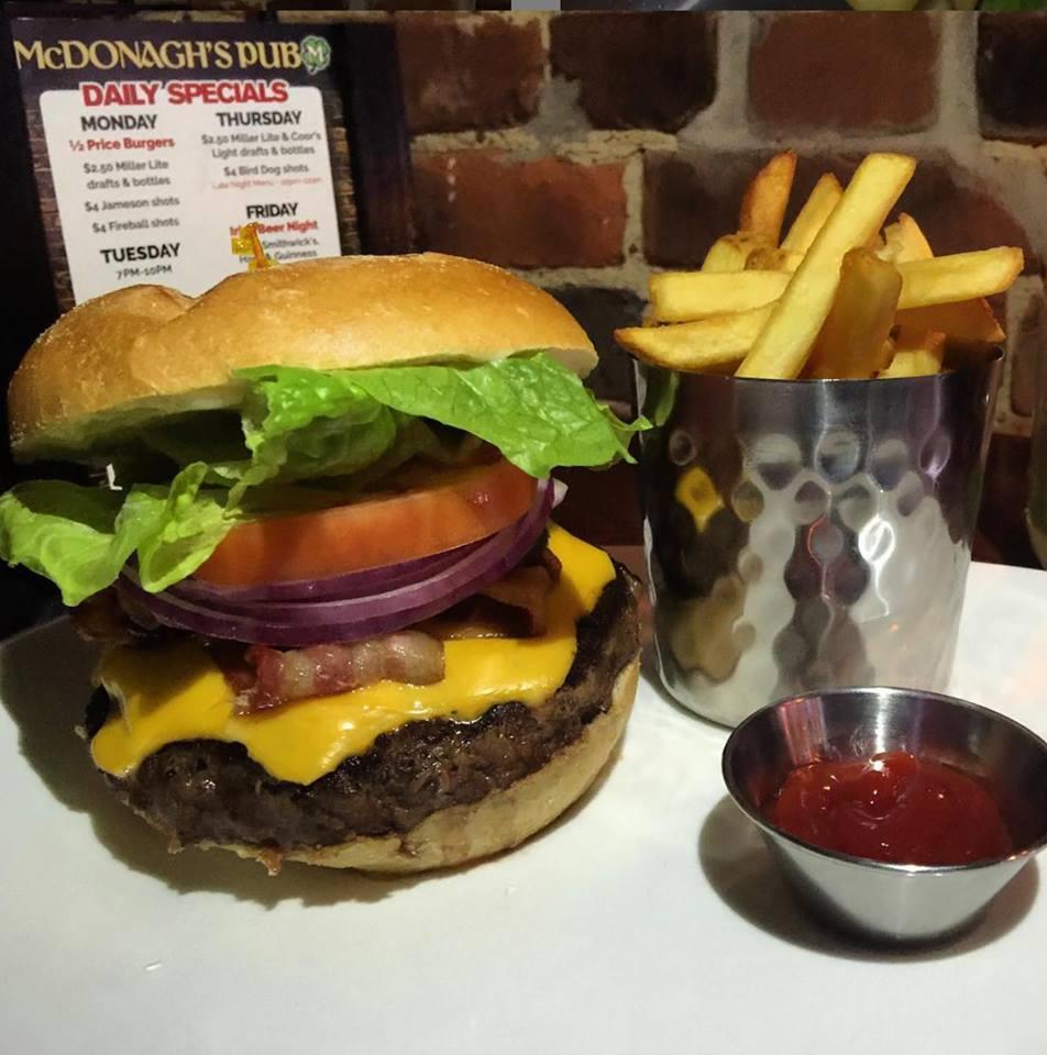 Mondays: Buds, Burgers & Bingo