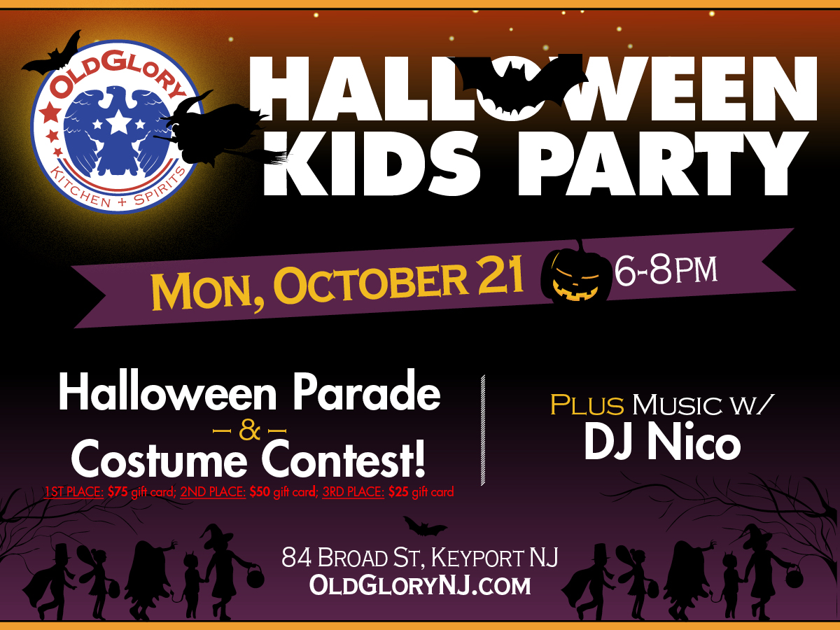 Kid's Halloween Party at Old Glory!