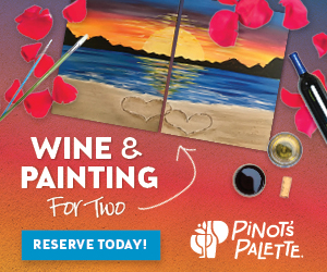 Join us for Wine & Painting for Two!