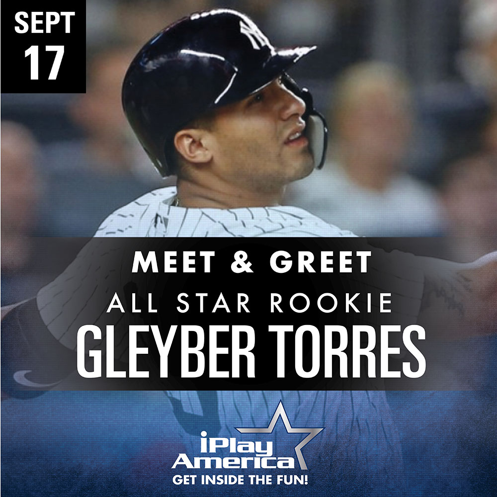 NY Yankees Gleyber Torres Meet & Greet!