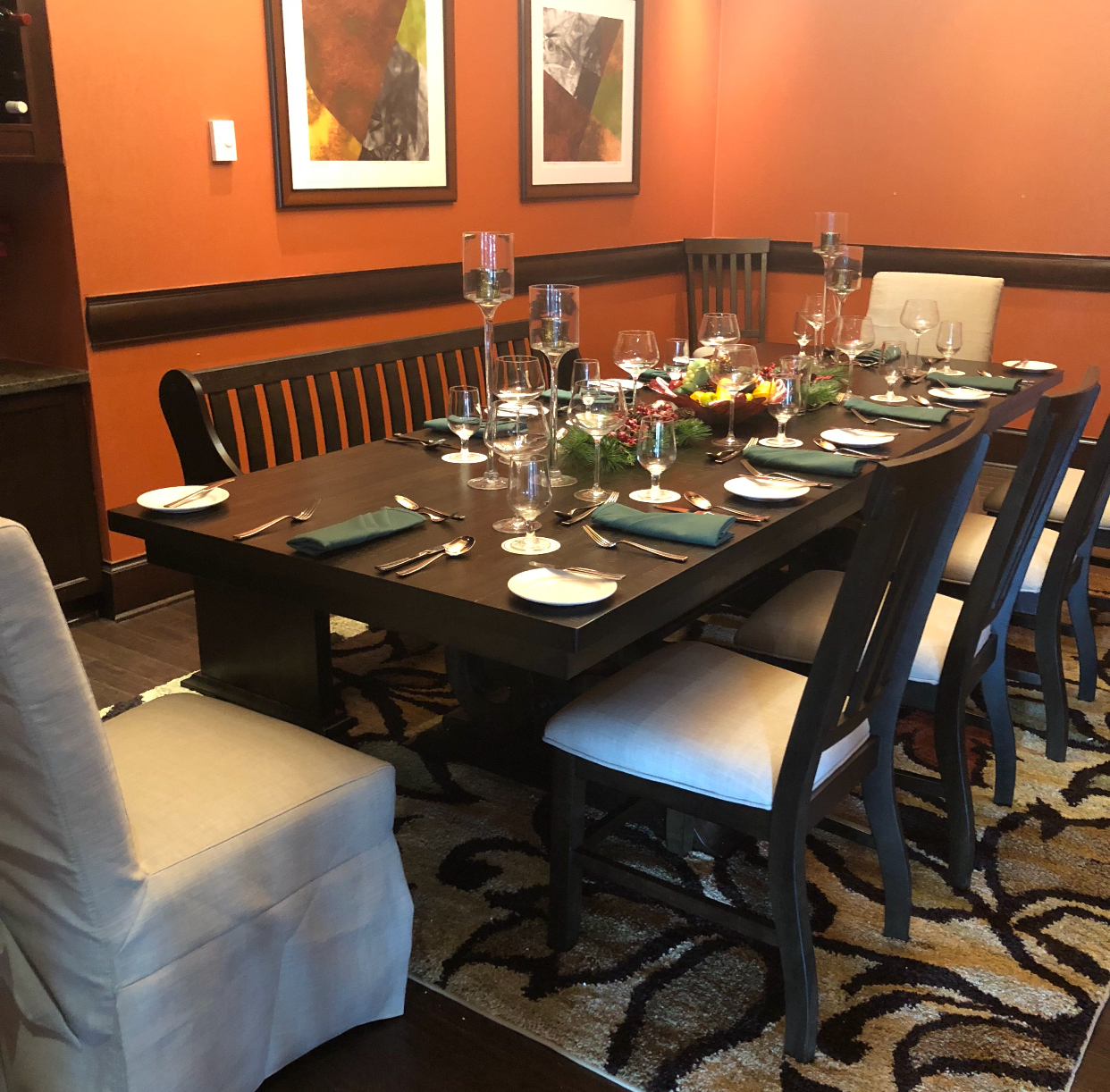 Private Dining with Red Knot at Galloping Hill