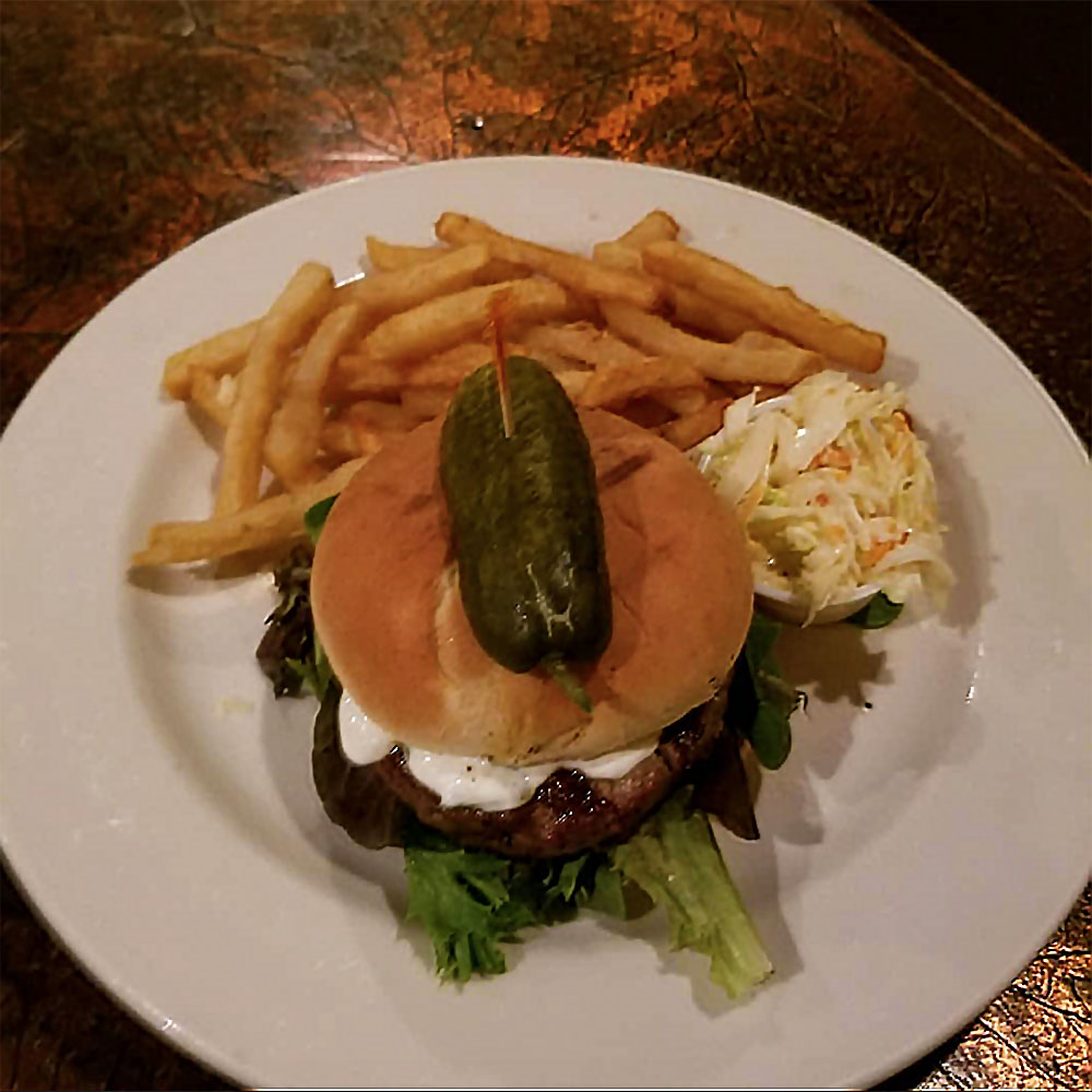 Burger Mondays at Hailey's Harp & Pub!