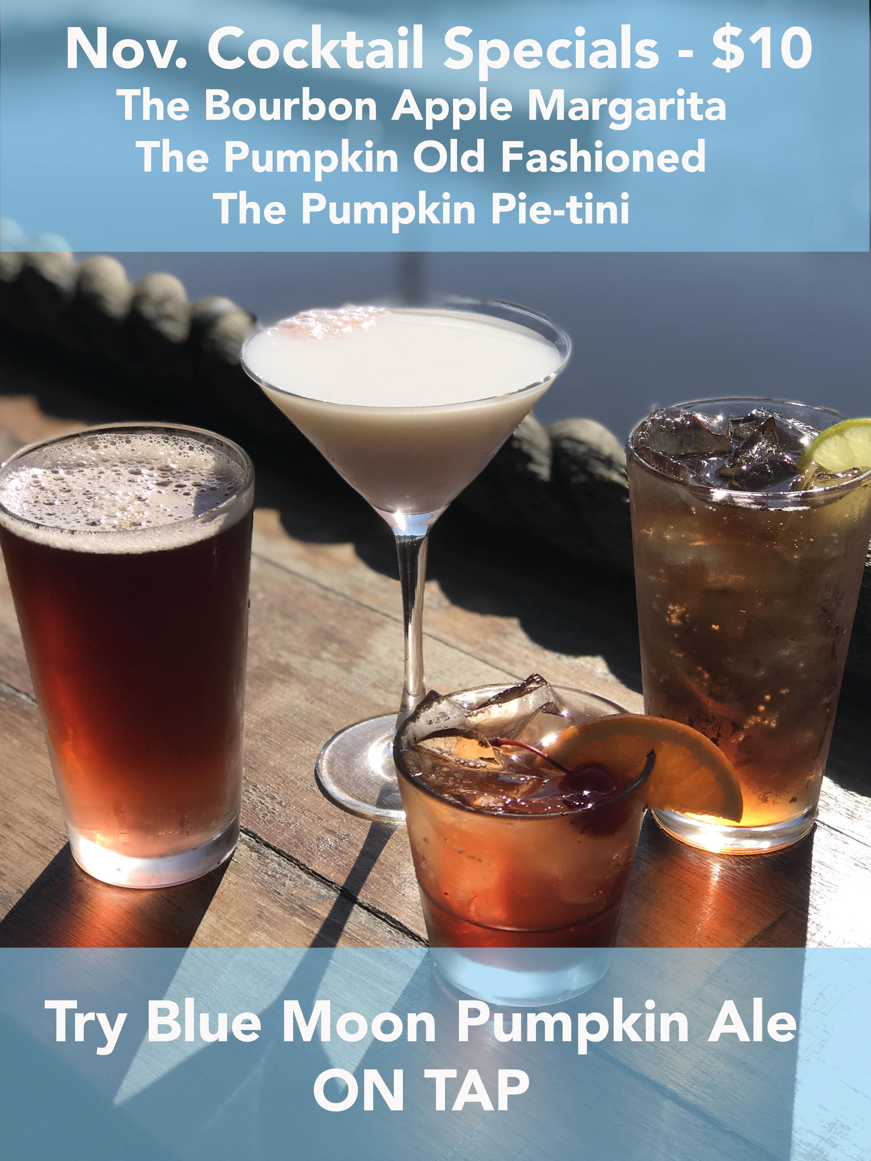 November Drink Specials