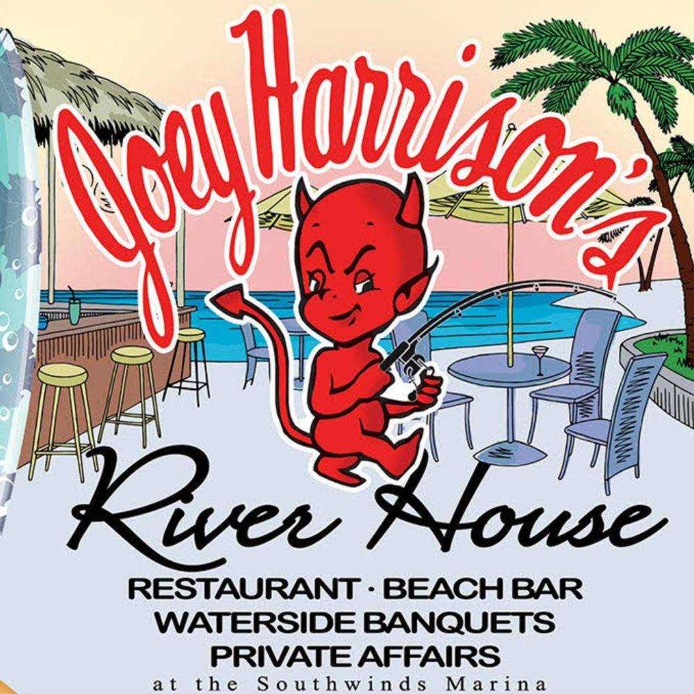 Dock and Dine at Joey Harrison's River House