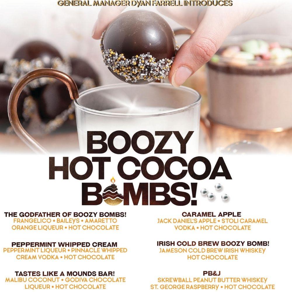 BOOZY HOT COCOA BOMBS!