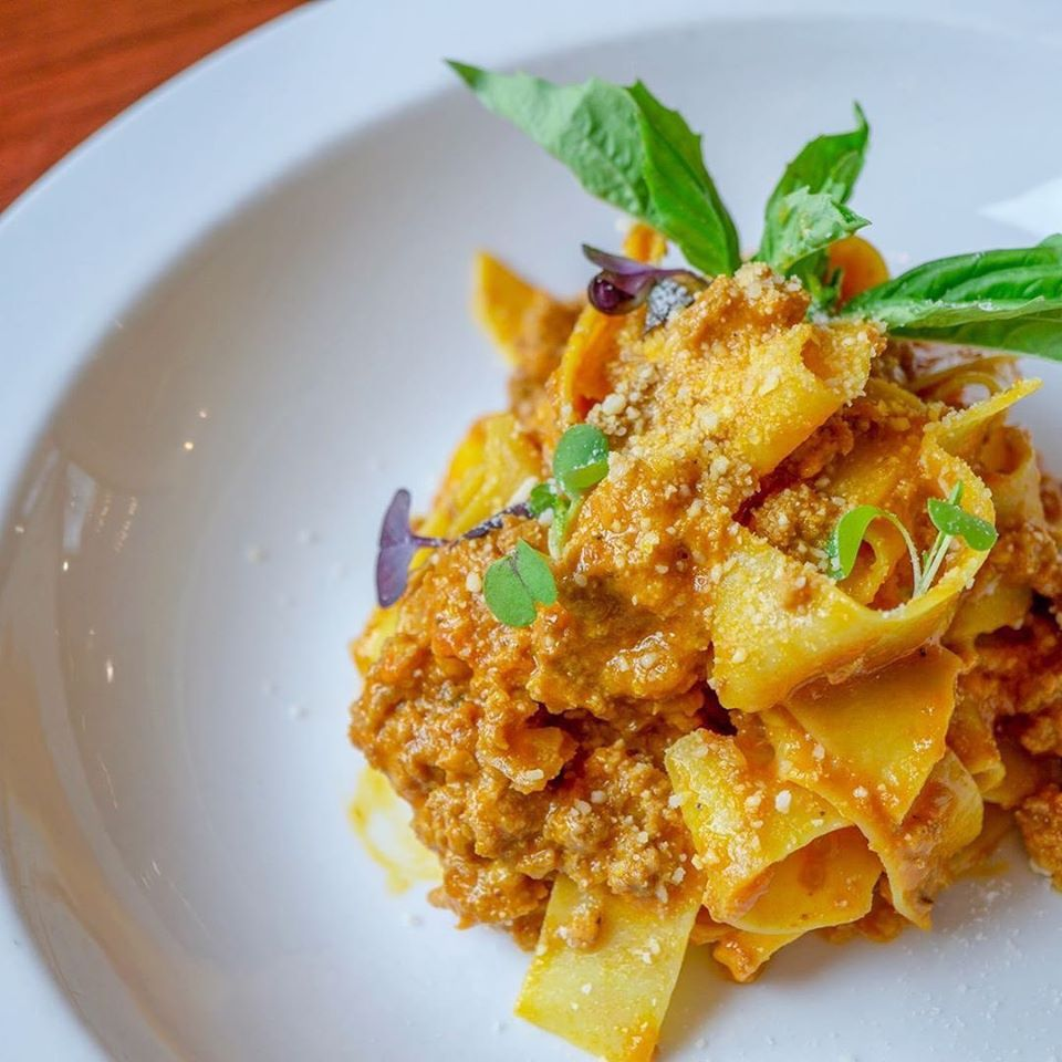Italian Fare Served Family Style at Patricia's