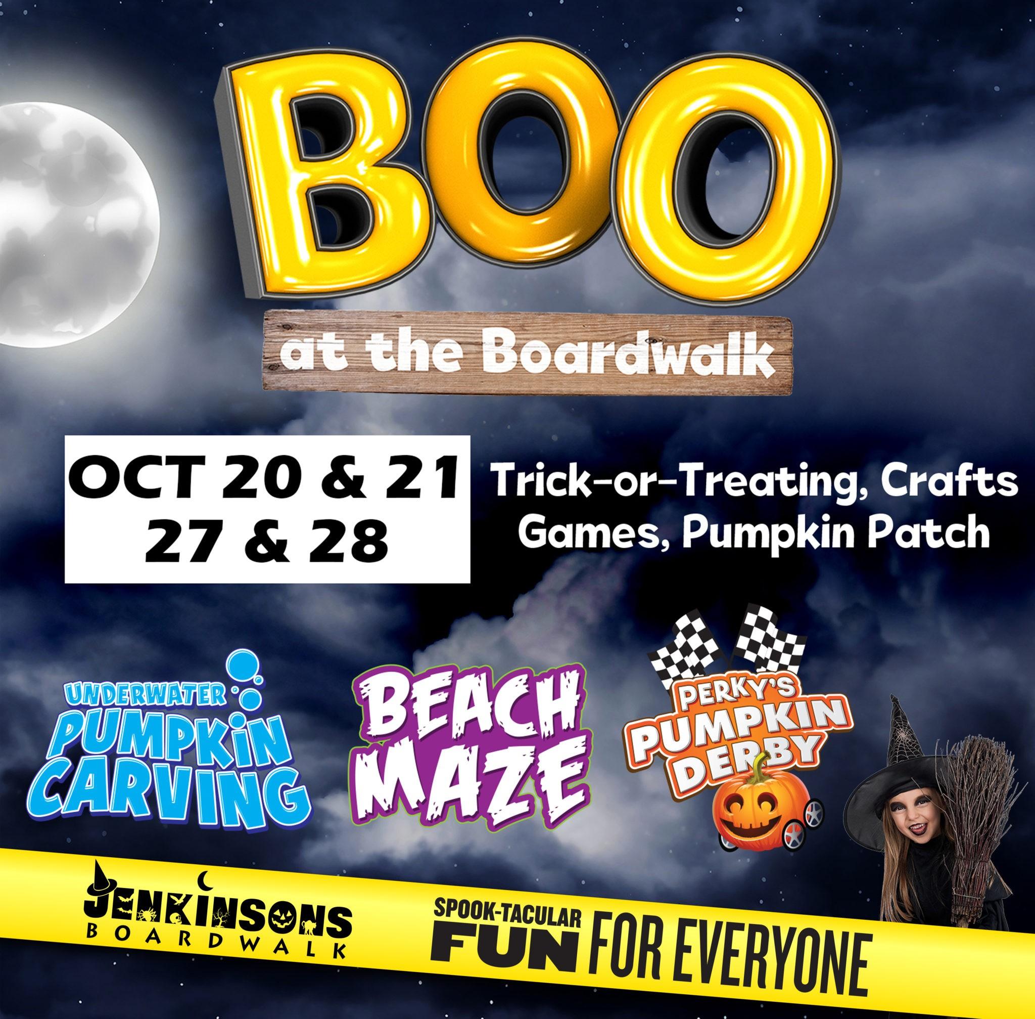 Boo at the Boardwalk