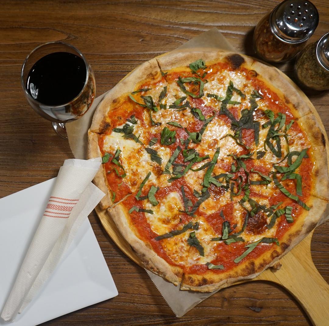Margherita Pizza Happy Hour!