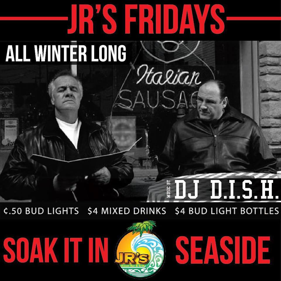 JR's Winter Friday's Are Back!