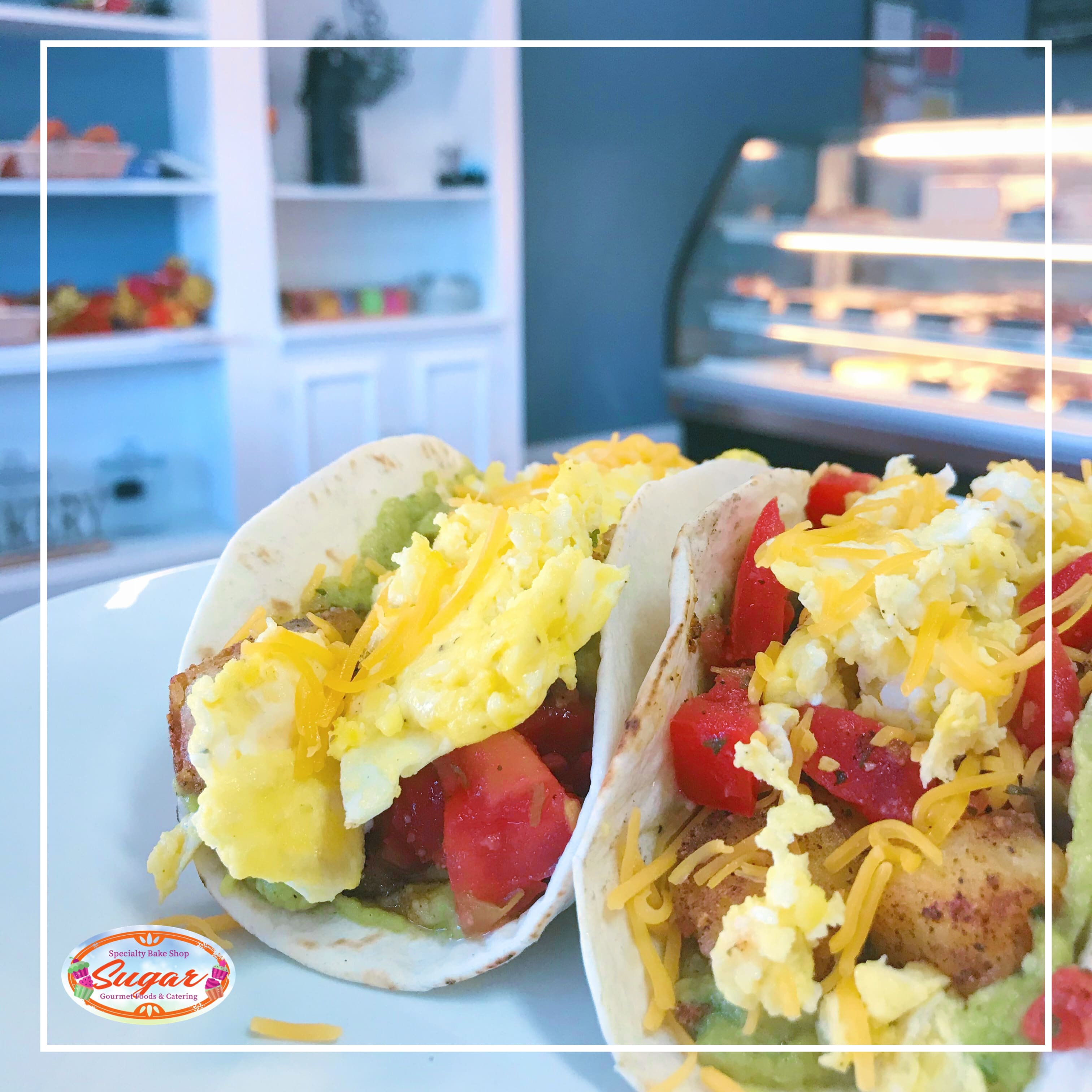 NEW! Breakfast Menu at Sugar Bake Shop