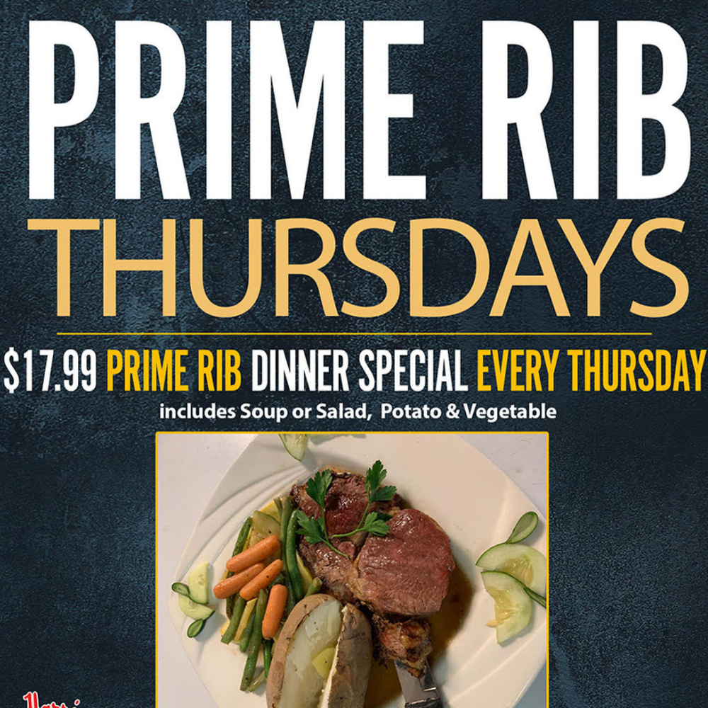 Prime Rib and Country Music Night Thursdays!