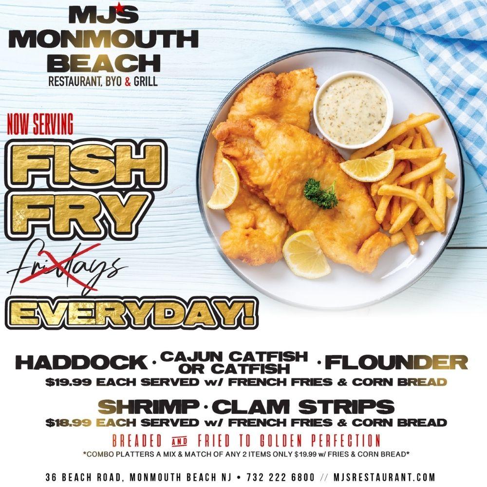 MJ's MONMOUTH BEACH FISH FRY