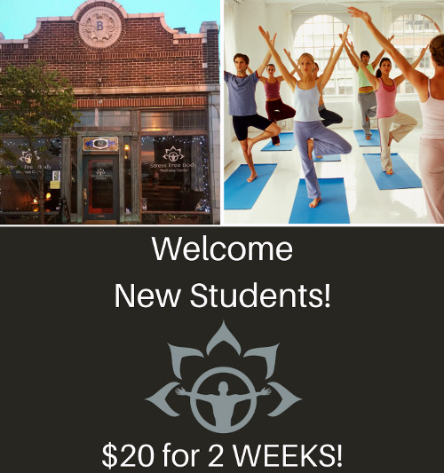$20 New Student Offer: 2-Weeks Unlimited Classes!