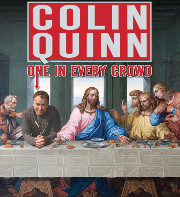 Colin Quinn Graces us with his Presence
