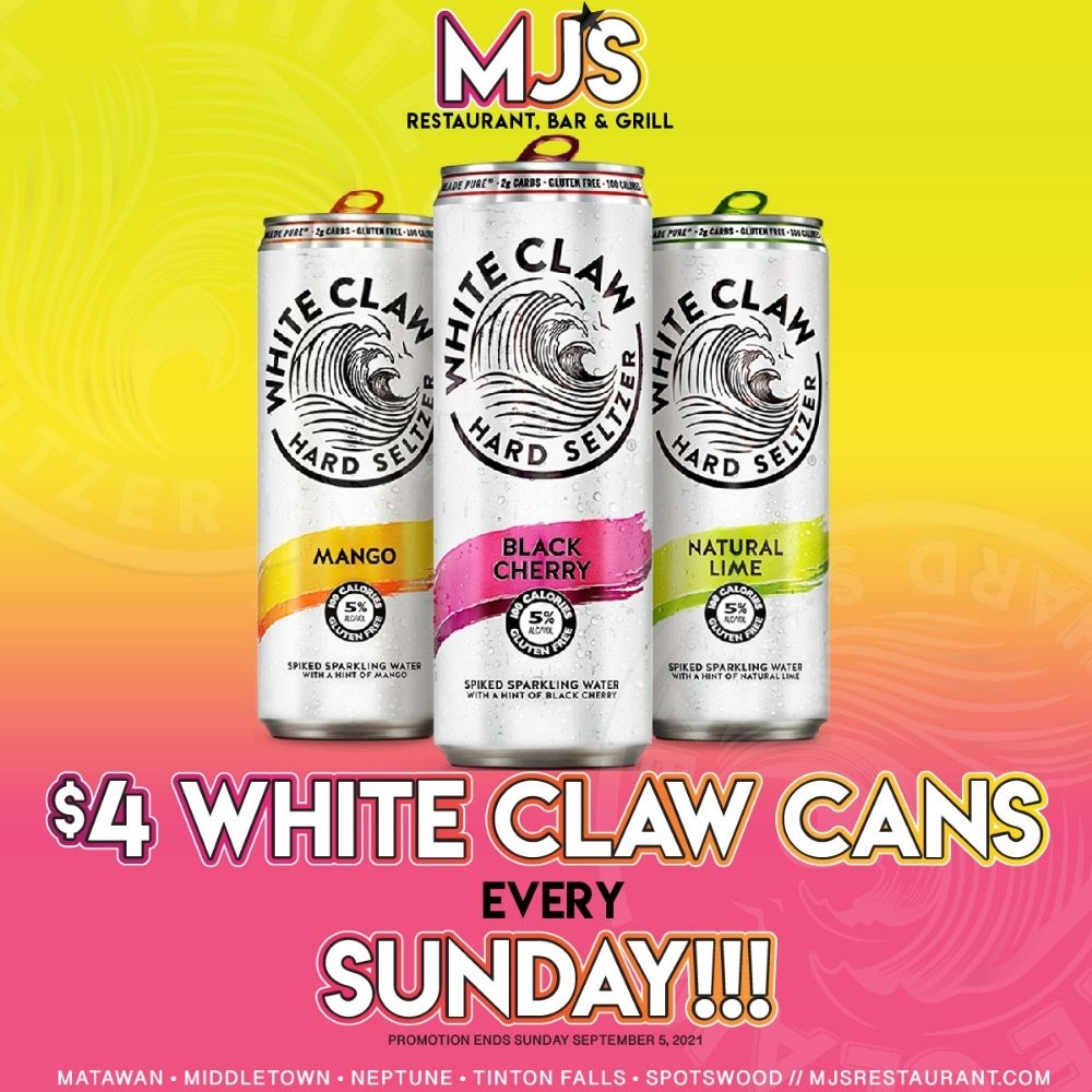MJ's $4 White Claw Cans