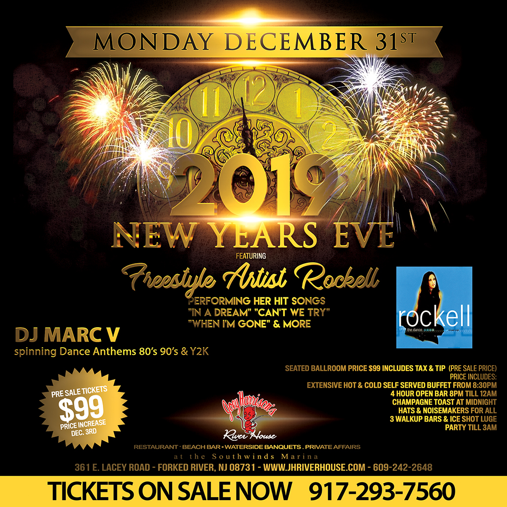 NYE 2019 DANCE & FREESTYLE MUSIC PARTY