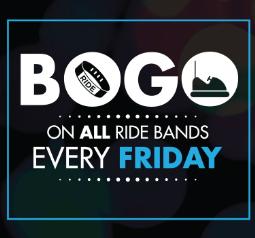 BOGO Fridays at iPlay America