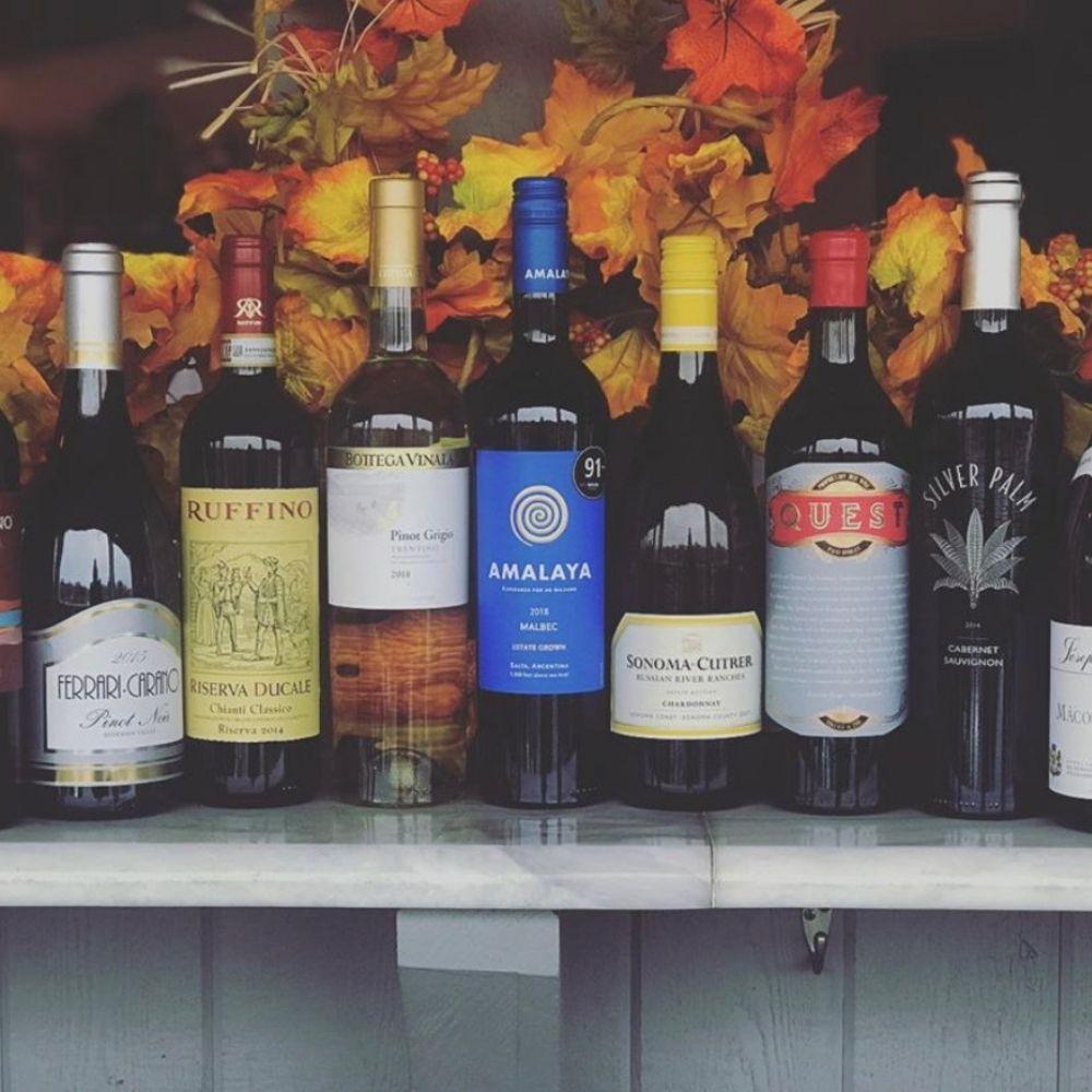1/2 Price Wine Bottles Every Sunday at The Marina!