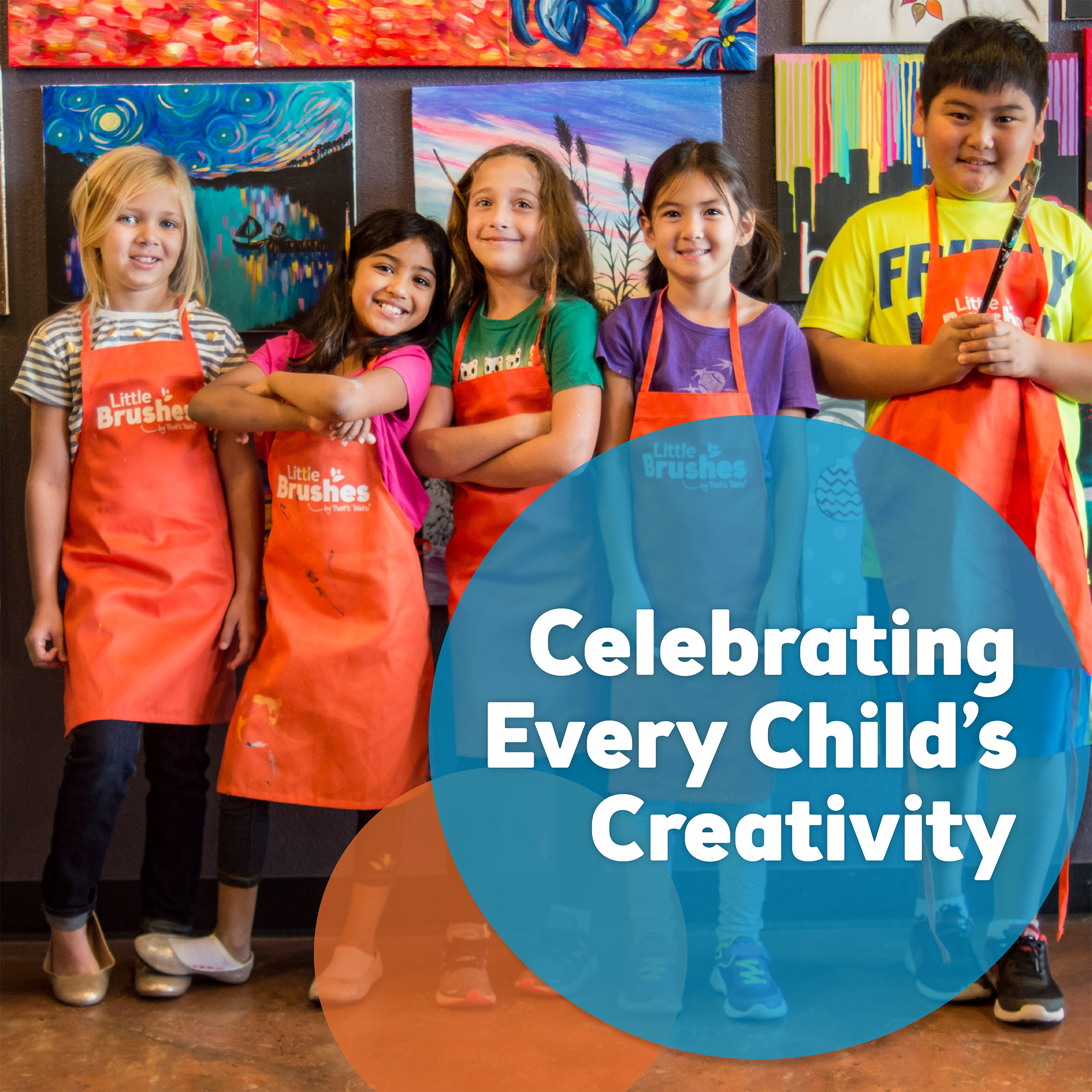 Plan your child's party at Pinot's Palette