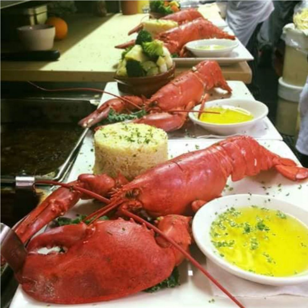 $19.99 Lobster or Lobster Tail Every Monday Night!