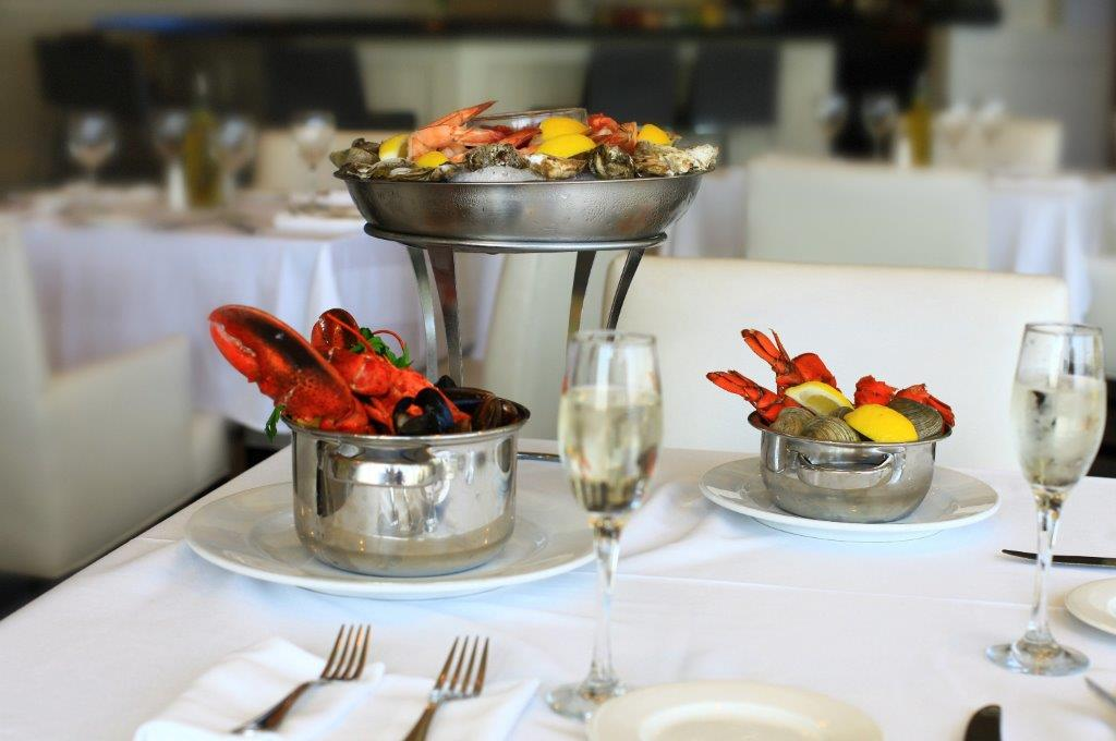 Dine at The Oyster Point Hotel