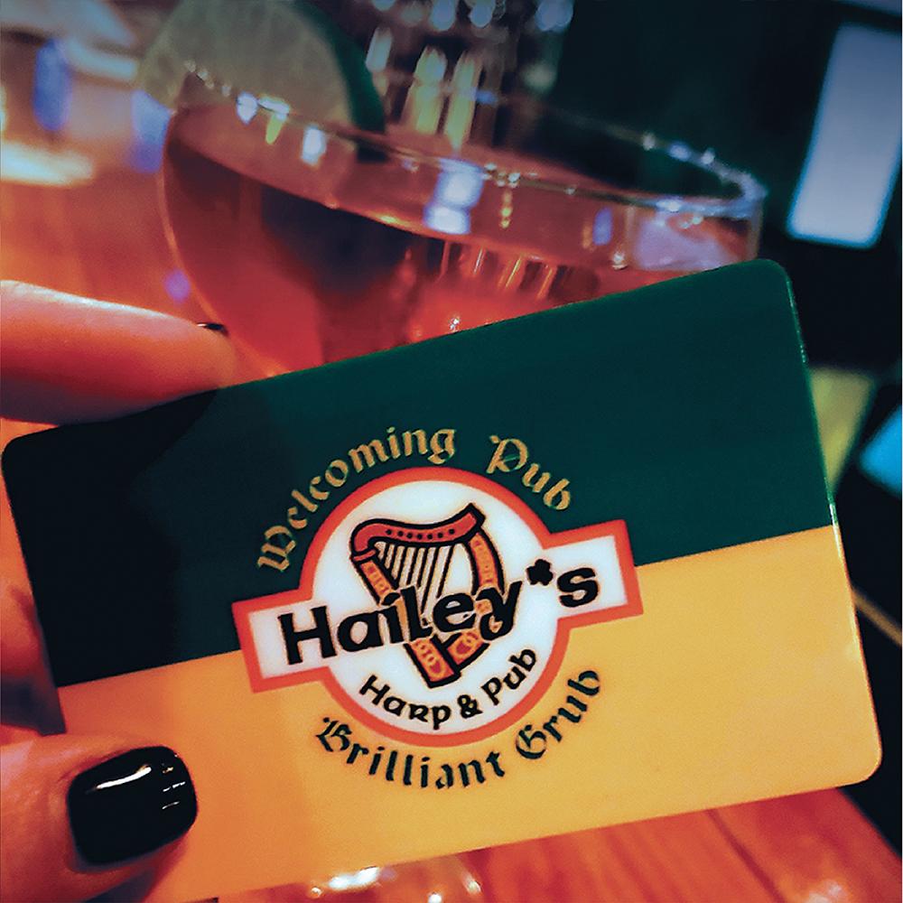 Hailey's Gift Card Deals!