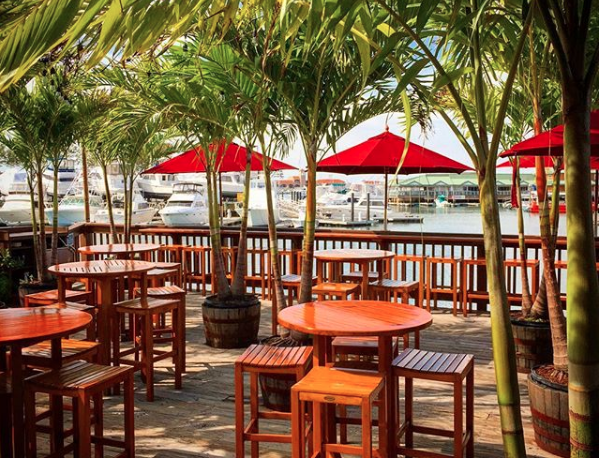 Waterfront Dining at Beach Creek!