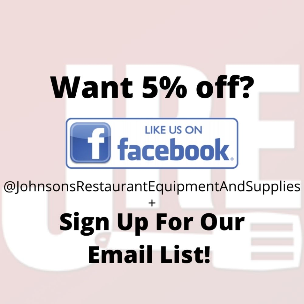 Like our Facebook and receive 5% off your purchase