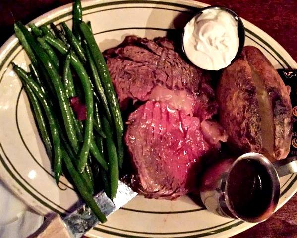 Prime Rib Night Every Tuesday