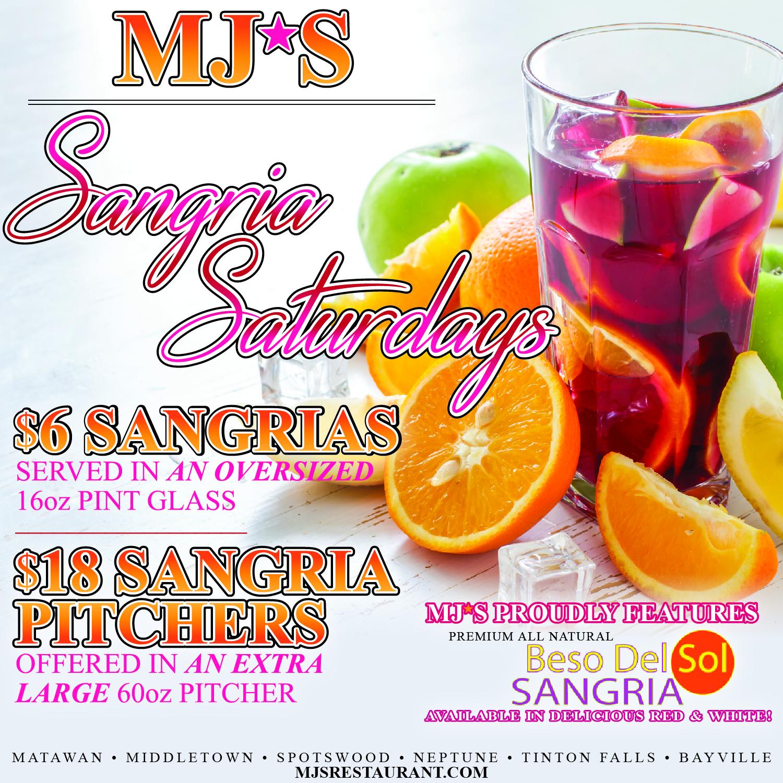 Sangria Saturdays